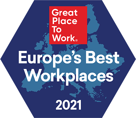 Best Workplaces Europe 2021