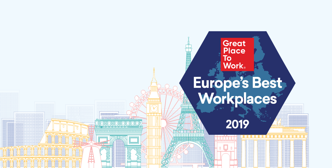 La Classifica Best Workplaces™ Europe 2019