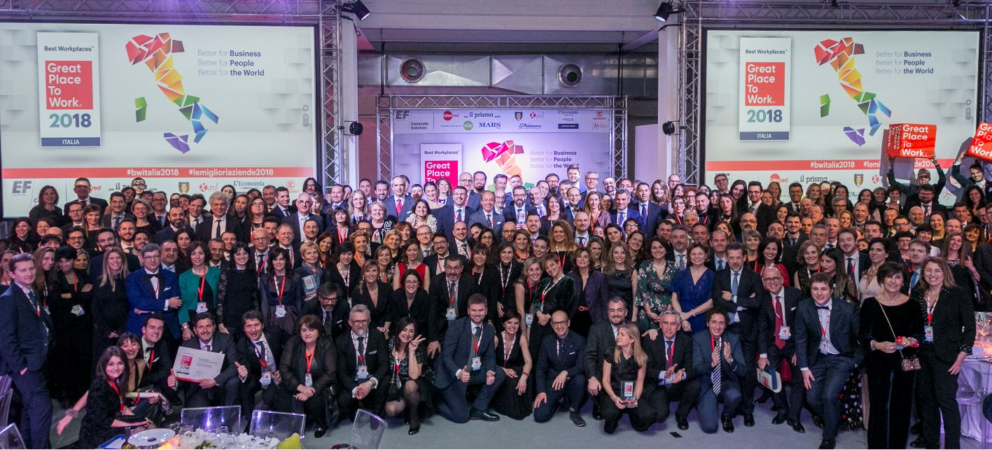Classifica Best Workplaces™ Italia 2018 - le aziende premiate