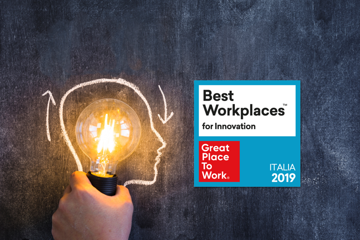 Classifica Best Workplaces™ for Innovation 2019