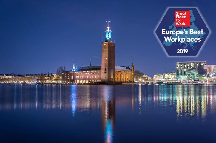 In arrivo Classifica Best Workplaces Europe 2019: save the date!