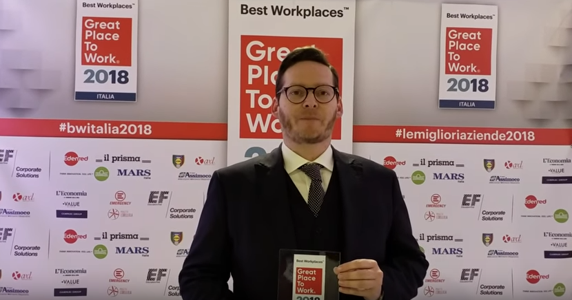 Best Workplaces Italia 2018: intervista a Mars Italia