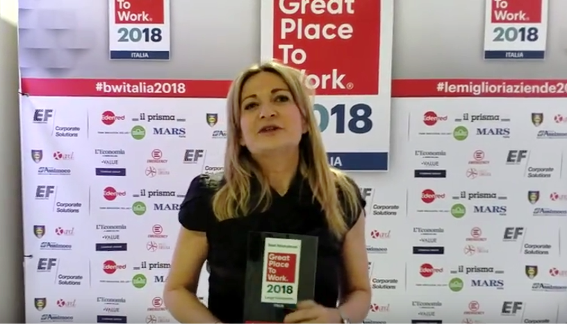 Best Workplaces Italia 2018: intervista a American Express