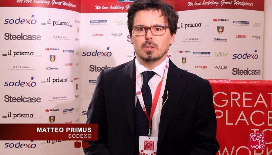Video intervista a Sodexo - 2017