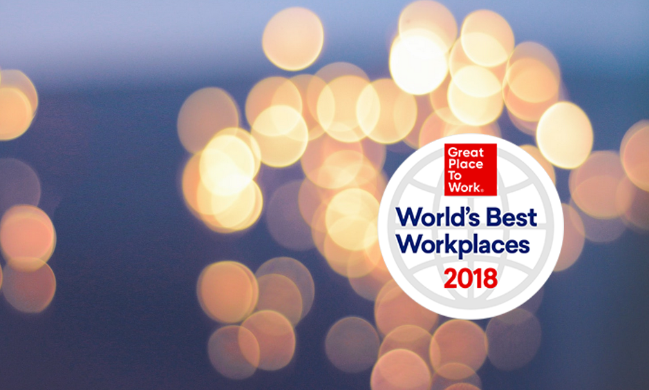 Classifica World's Best Workplaces™ 2018
